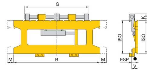 Seitenschieber (Hochleistungsmodell)